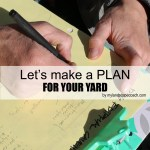 Let's make a plan for our yard