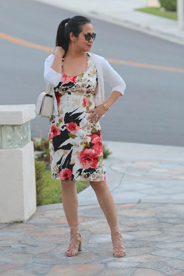 Floral Spring/Summer dress