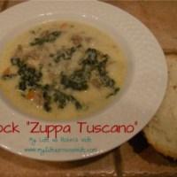 "Mock ""Zuppa Tuscano""  (Creamy Sausage and Kale Soup)"