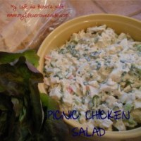 Going on a Picnic...Chicken Salad Sandwiches