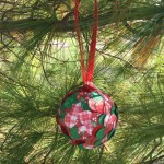 DIY: Simple Paper Punch Handmade Holiday Ornament