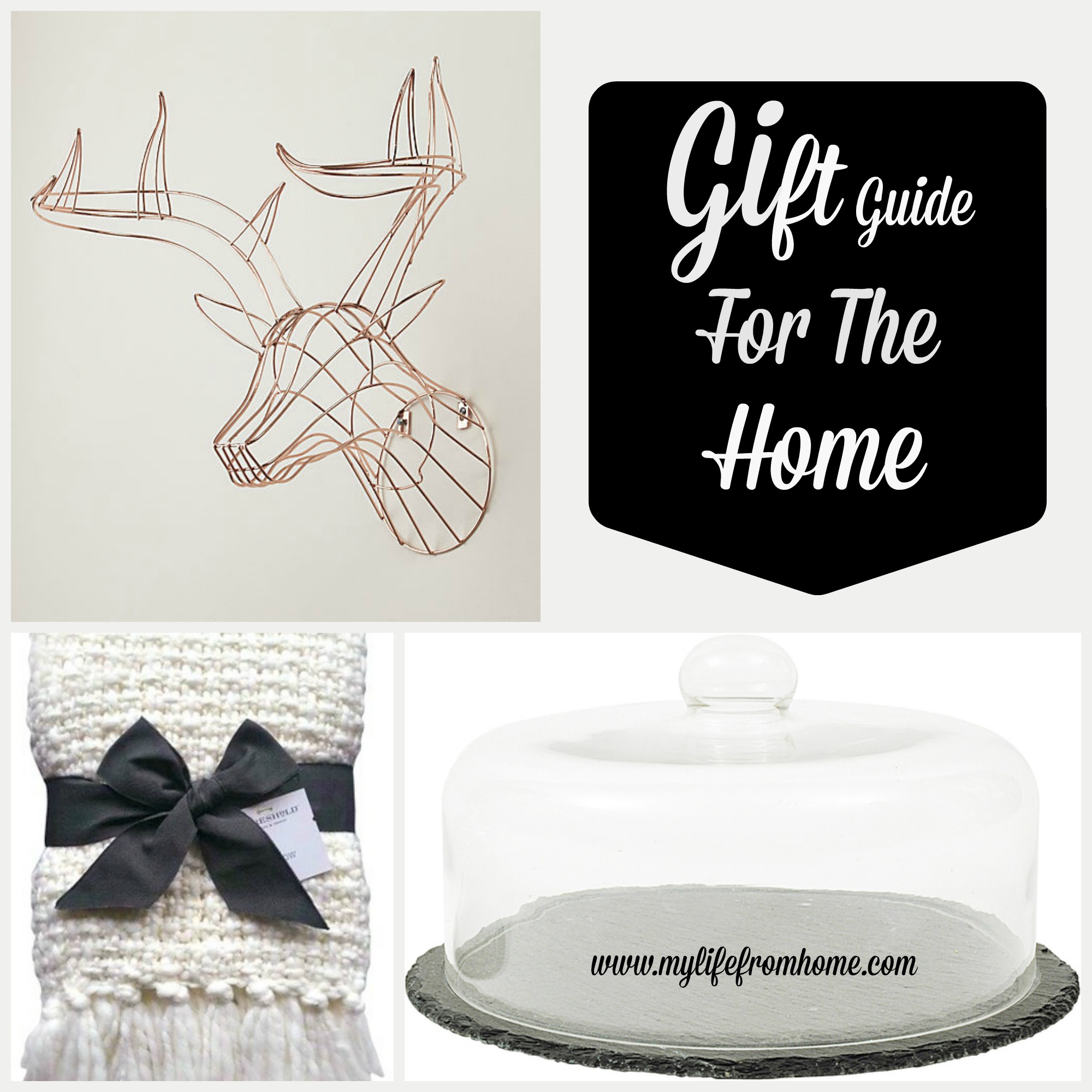 Gift Guide for the Home by www.mylifefromhome.com