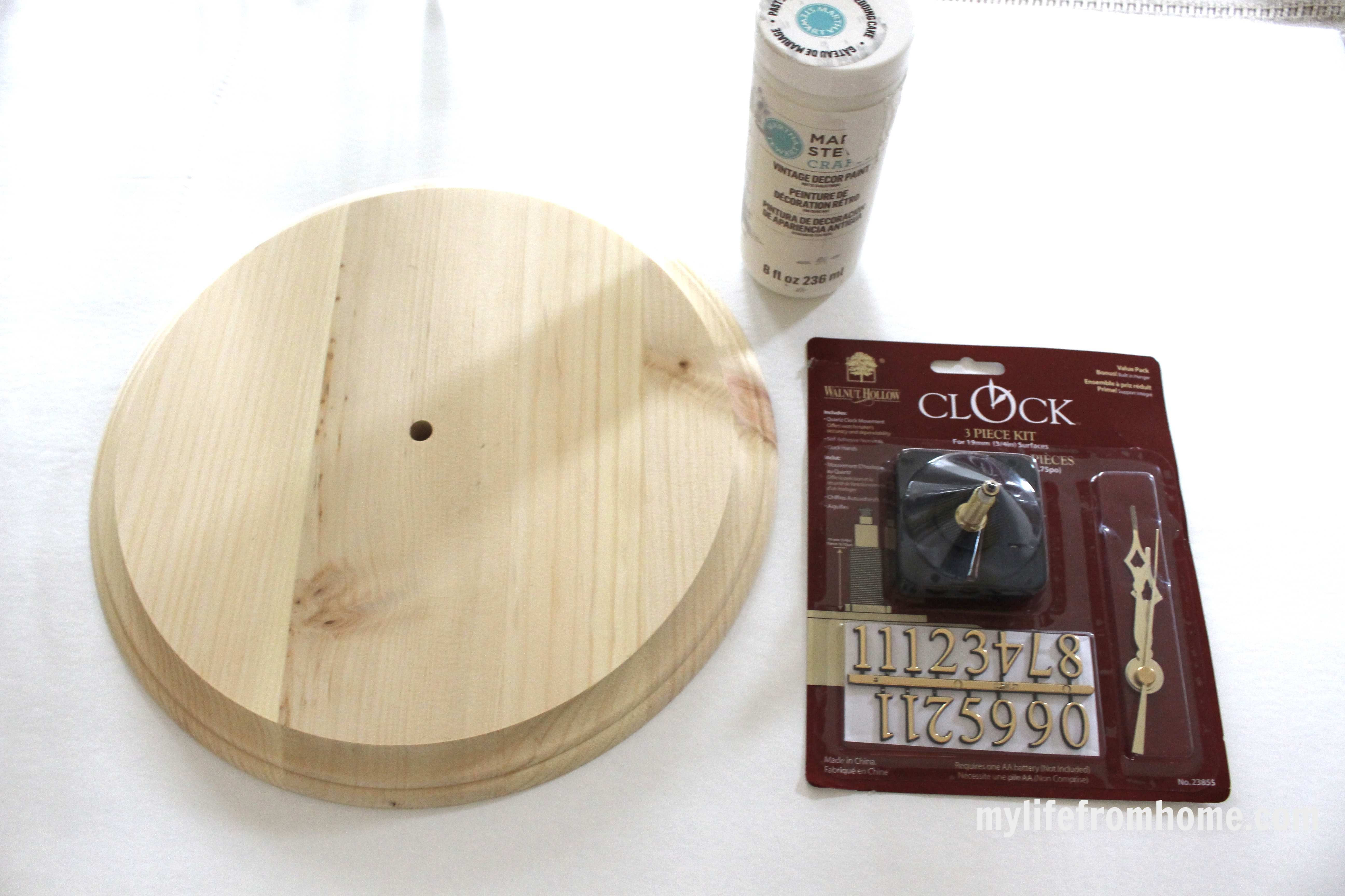 Walnut Hollow Round & Clock parts by www.mylifefromhome.com