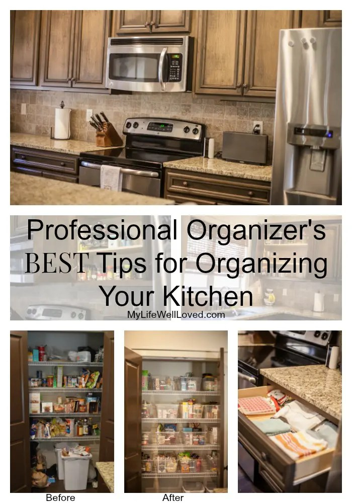 Kitchen Organization Overhaul + Kempt Organized Living Discount