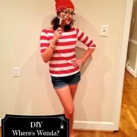 DIY Where's Wenda Costume