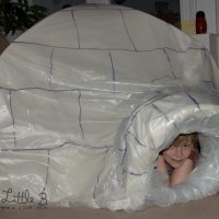 How To Make An Indoor Igloo