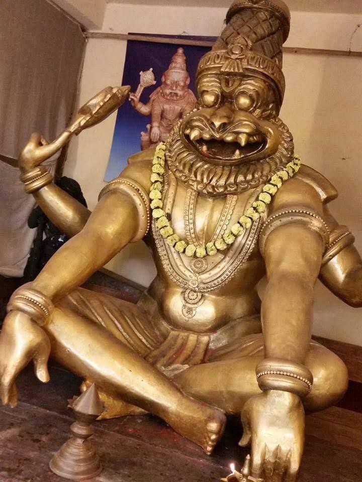 Narasimha-Sitting-Dharshan
