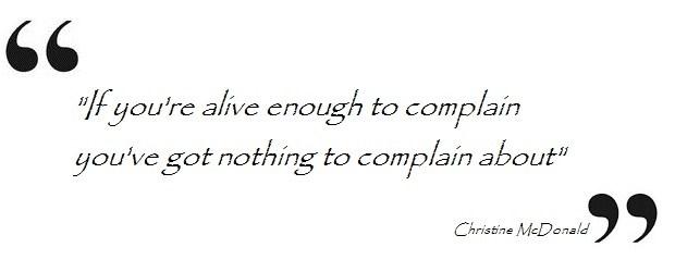 No-complaints