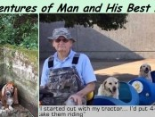 Man-and-Dog