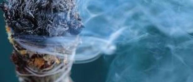 Burning-Smudge-Stick