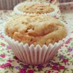 carrot apple & yoghurt muffins