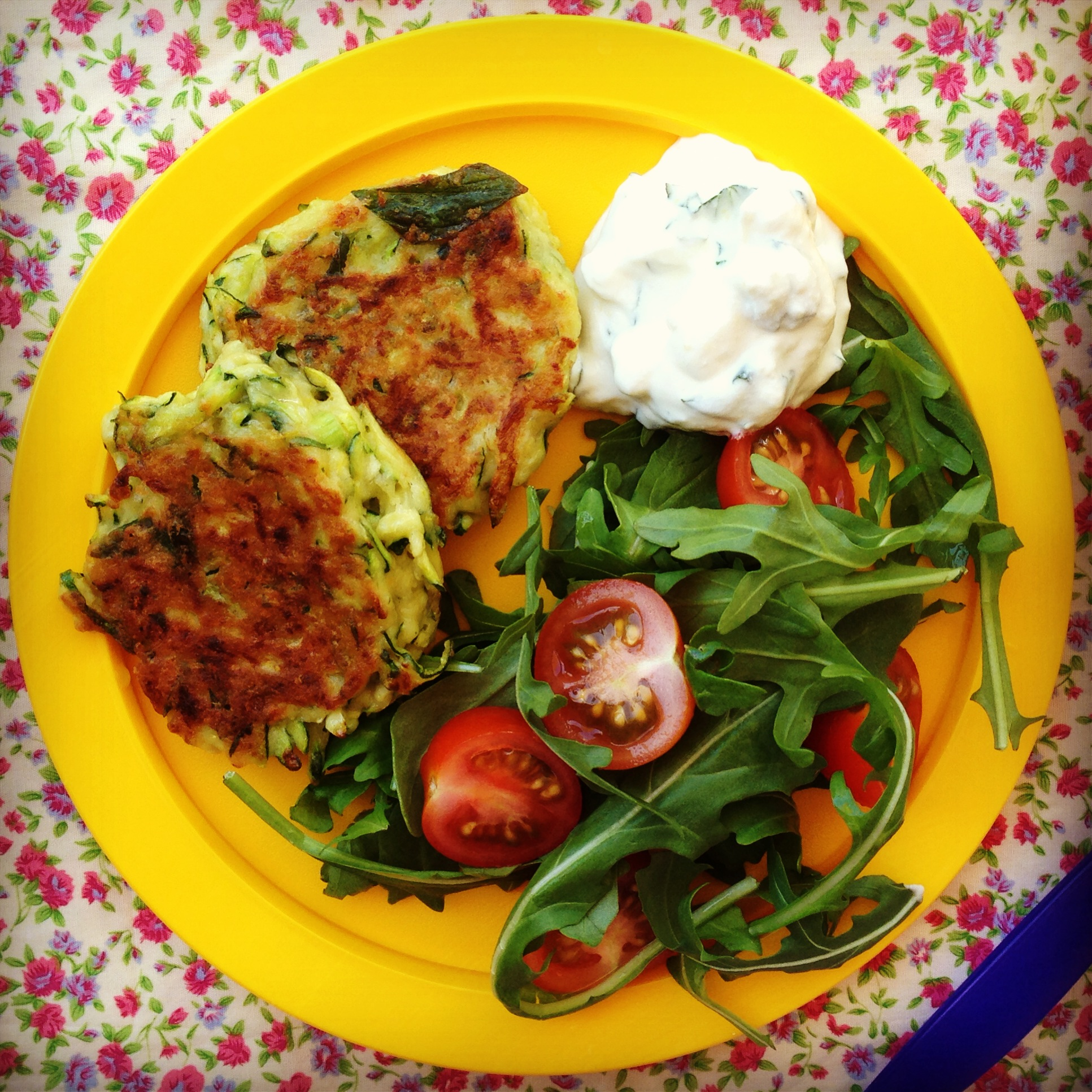 Zucchini fritters my lovely little lunch box zucchini fritters forumfinder Choice Image
