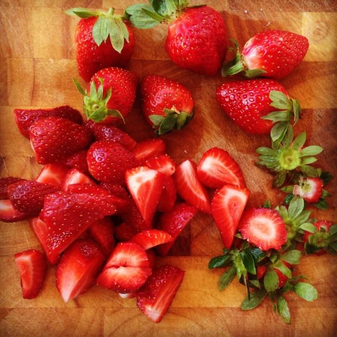 strawberry oat bread