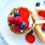 fruit and yoghurt breakfast cups
