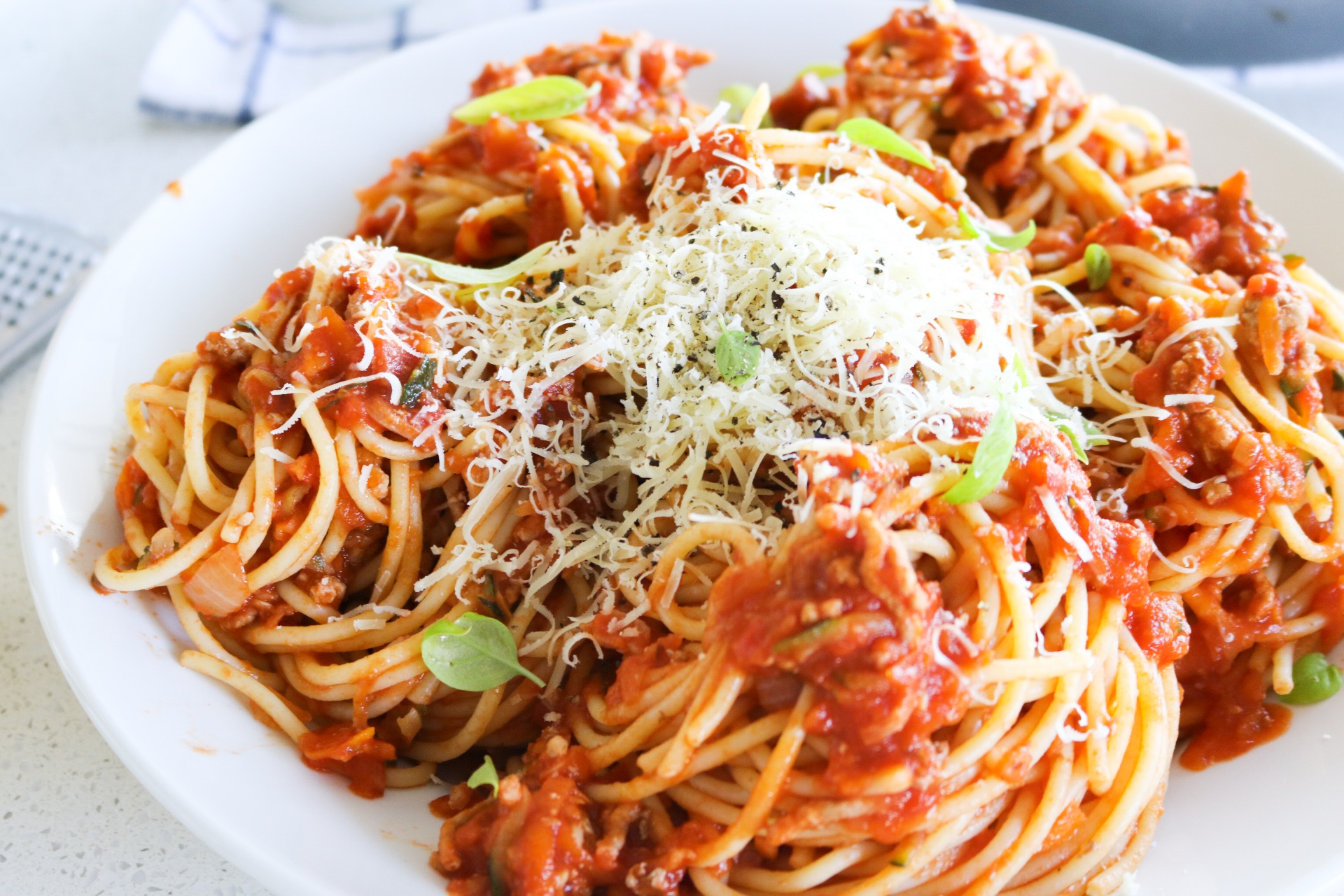 spaghetti bolognese - my lovely little lunch box