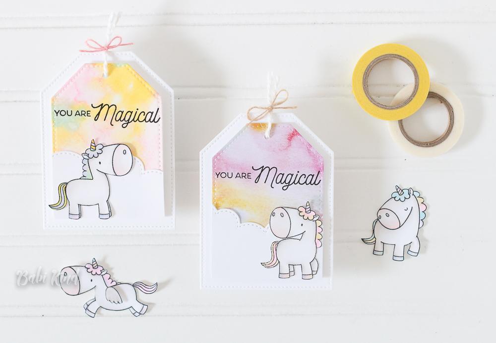 Babi Unicorn tags (1 of 4)