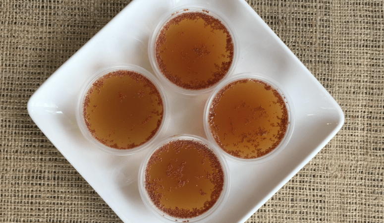Apple Cider Gelatine Shots!
