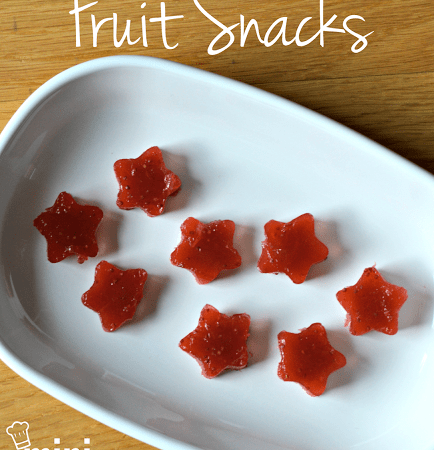 Homemade Berry Fruit Snacks