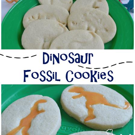 Dinosaur Fossil Cookies!