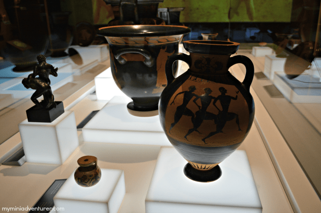 Olympic Museum Vases