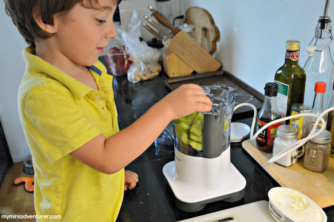 cucumber dip blending