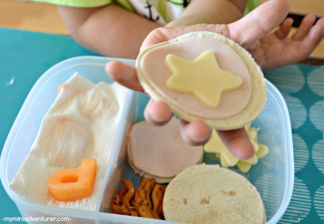 Homemade Superhero Lunchables