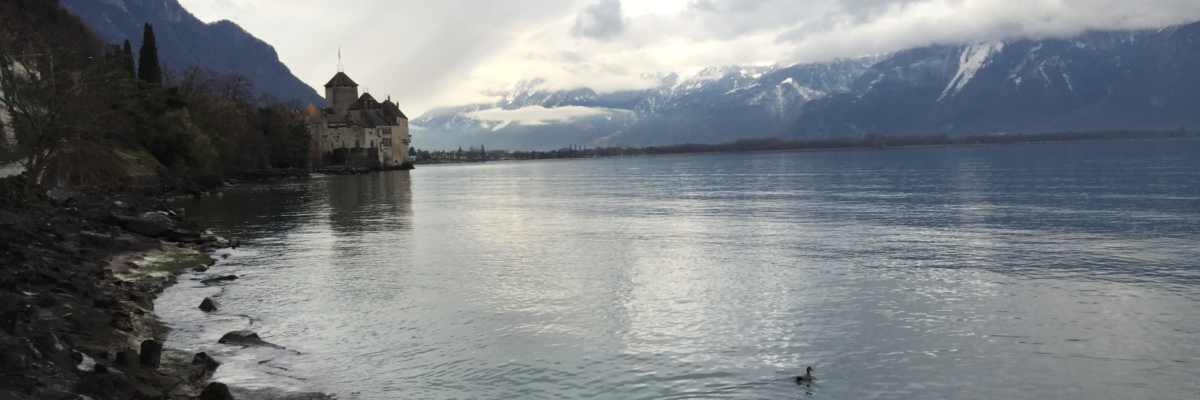 montreux view lake