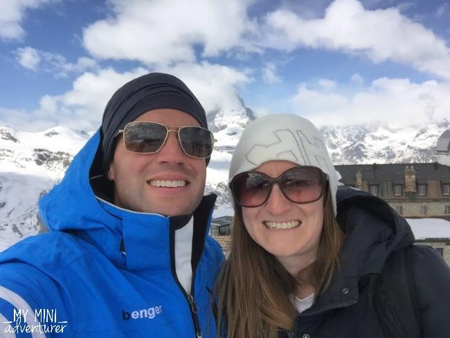 zermatt matterhorn selfie