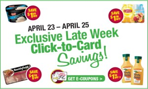 Tops Late Week Click to Card Coupons