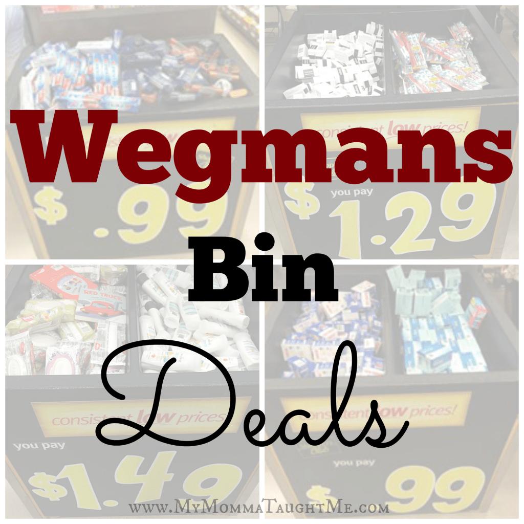 Wegmans Bin Deals