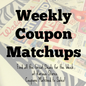 Weekly Coupon Matchups