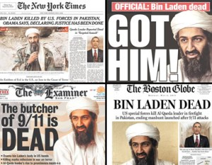 My Mommyology bin Laden's death