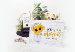 High Change Address Cards Moved Cards Personalized Moving Cards We Ve Moved Cards Free Templates We Ve Moved Cards Photo