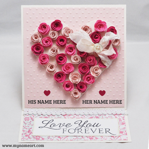 My Name Write On Romantic Love Letter Pics And Image   wishes     Create card