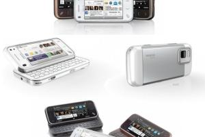 Pics: White Nokia and Garnet N97 Mini (+Poll – White, Garnet or Black N97 mini?)