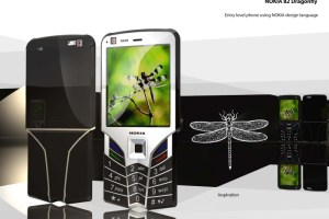 Concept Nokias: Nokia Stealth and Nokia N82 Dragonfly
