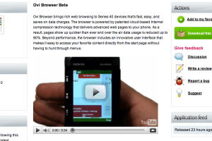 Nokia Ovi browser is real !!! part 2