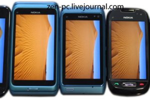Nokia N8 and Nokia E7 versus Samsung Galaxy S. E7 CBD AMOLED vs G-S Super Amoled.