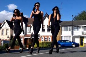 Nokia N8 Film: Super Hot Spy Girls Running Around with Nokia N8s and Solving Crime