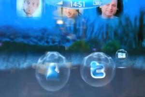 "Video: Cool Custom ""Bubble"" UI for MeeGo on NoteBook/Tablet Lenovo IdeaPad and Nokia N900"