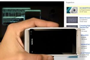 Nokia N8 and TRON takes over Canadian Rogers' YouTube Page!