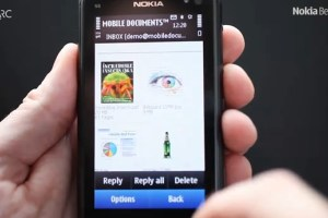 Video: Mobile Documents beta for Symbian^3 – Cloud boosted push email at Nokia Beta Labs!