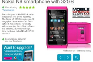 Pre-orders for Pink Nokia N8 32GB with Symbian Anna, receive on May 13th! PR2.0 really Coming soon?