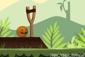 Video: Annoying orange versus Angry Birds