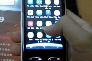 Video: White Nokia N9 Clone with horrid Android buttons