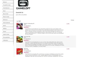 Gameloft 50% off Promo at Nokia Store!