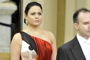 Rovio CEO's wife wears beautiful Angry Birds Dress at Finland's Independence Day Celebrations