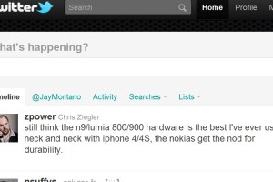 Nokia Lumia 900 – hardware best ever, says TheVerge's Chris Ziegler. Neck and neck with iPhone.