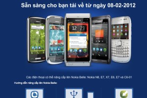 Official: Nokia Belle coming on 8th February 2012 (to Vietnam). #Symbian