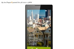 Windows Phone 8 launch on October 29th